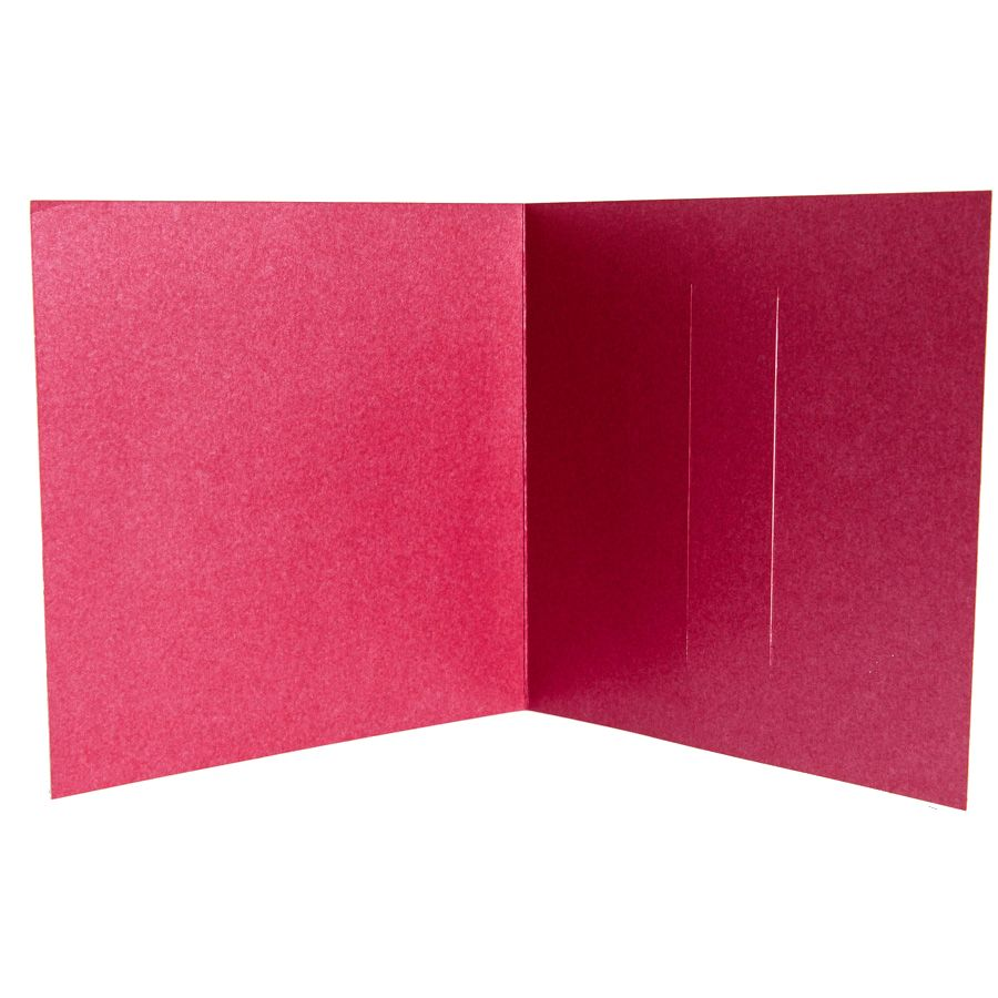Trademark Cherry Red Pearlescent Wallet