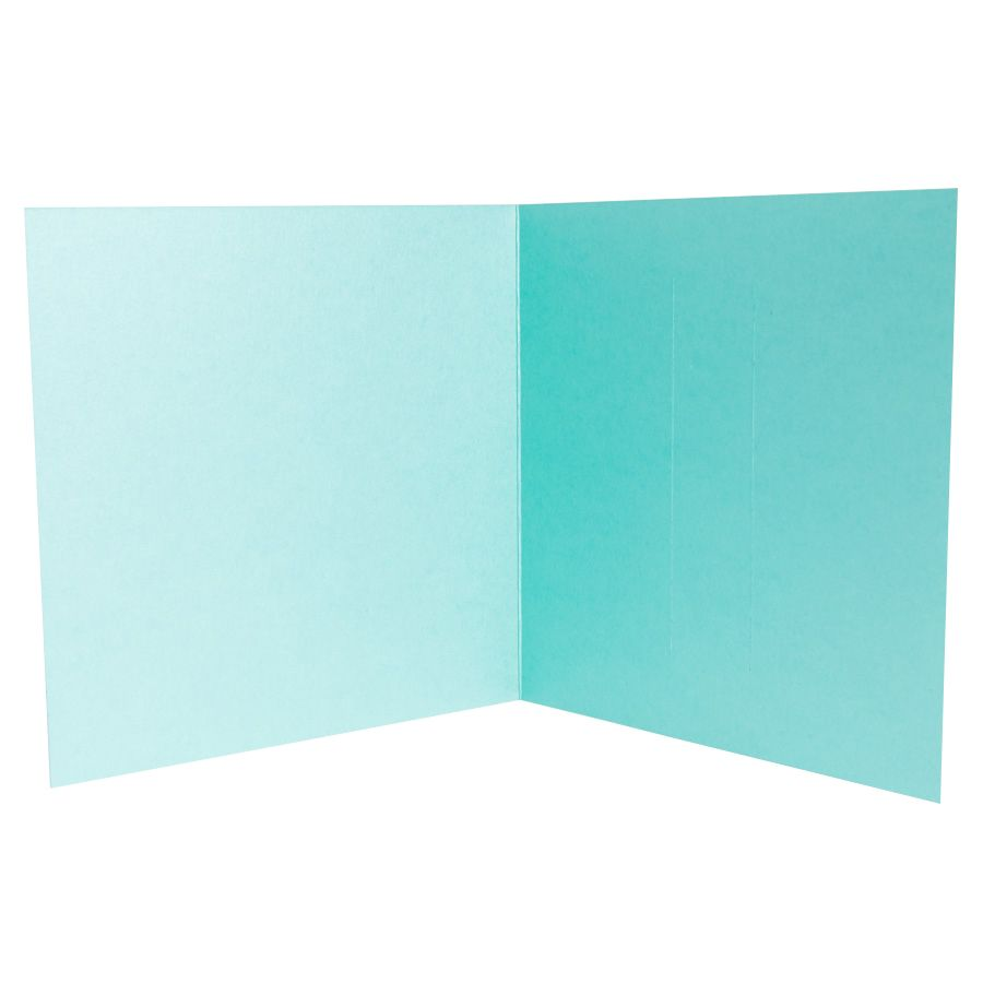Trademark Turquoise Blue Pearlescent Wallet